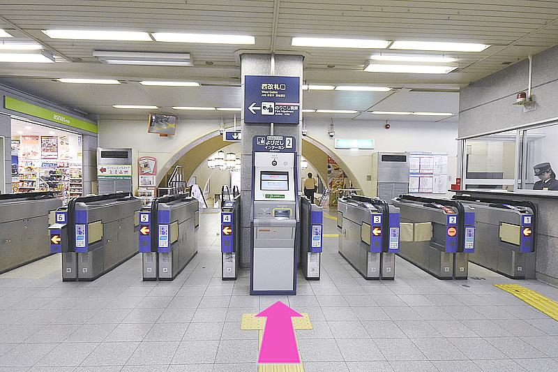 三宮駅よりアクセス1