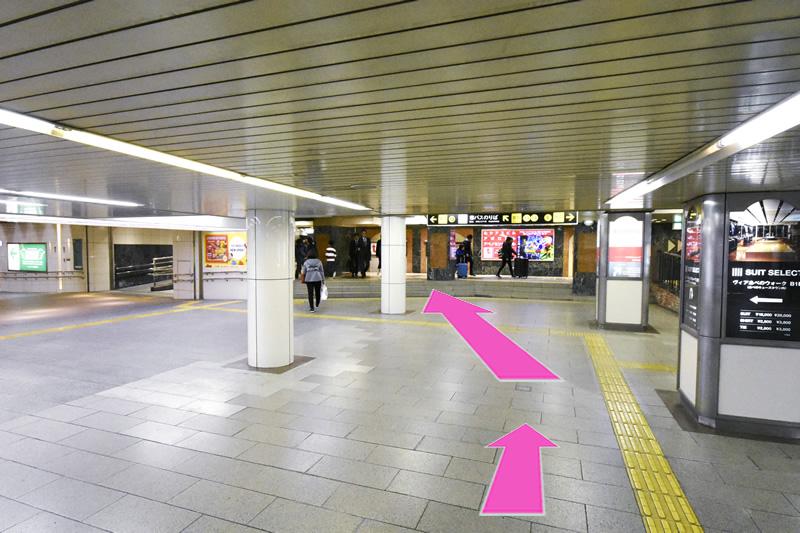 天王寺駅よりアクセス3